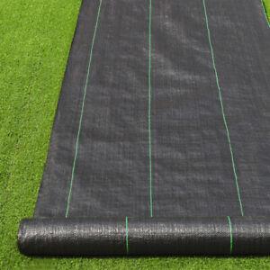 Blocker Weed Control Fabric Ground Cover 2/3/4m Width Fabric Membrane Garden UK