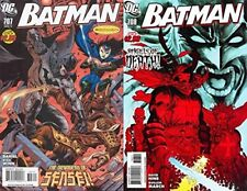 Batman #707-708 (1940-2011) DC Comics - 2 Comics