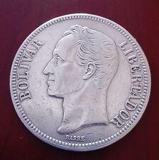 Moneda de Venezuela año 1935 M.B.C. Simón  Bolivar.Envío certificado.