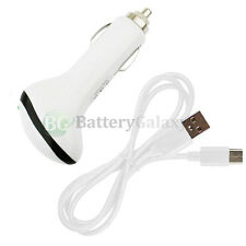 NEW USB Type C Cable+RAPID Car Charger for Android Phone Google Pixel / Pixel XL