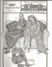 Ann Person Collectibles Cozy Couch Suit Pattern #2007