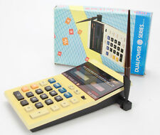 Calculatrice  Vintage Dual Power Use EC-886  Calculator (Réf#T-132)