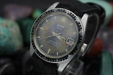 Vintage AUSTIN Premier Datemaster Super Automatic Stainless Steel Divers Watch