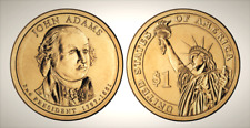 2007 D John Adams Presidential Series Dollar UNC MS Brilliant Uncirculated!!