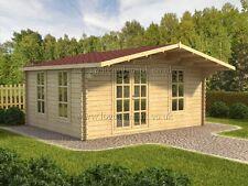 SALE!! log cabin MADRID  5 x 4 Log Cabin 34 mm walls