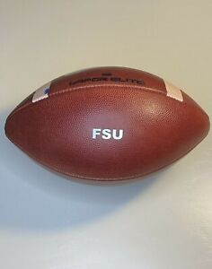 2019 Florida State Seminoles Game Used v Boston College Nike Vapor Football FSU
