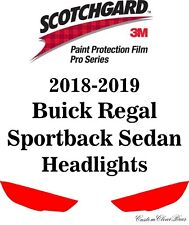 3M Scotchgard Paint Protection Film Pro Series 2018 2019 Buick Regal Sportback