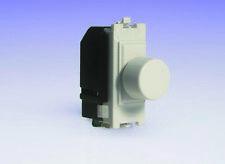 Varilight 2-Way Push-ON/OFF Rotante Dimmer Interruttore della luce 60-400 W (1) SPAZIO Griglia WH