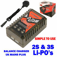 Lipo Charger for 2S 3S Battery (7.4V,11.1V) Fast Balance Charger EASY TO USE!