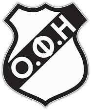 "OFI Crete FC Greece Football Soccer Car Bumper Sticker Decal 4""X5"""