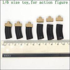 L24-34 1/6 scale Magpul & M4 MAG*6 (Soft rubber)