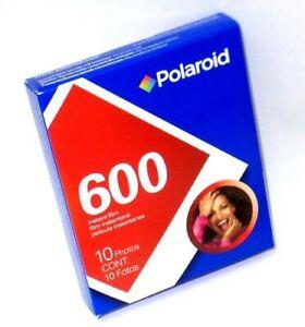POLAROID 600 Color Instant Film - ISO 600 - 50 Exposures (10 per pack)