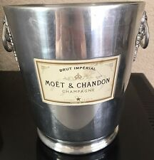 VINTAGE MOET CHANDON CHAMPAGNE COOLER BUCKET USED NO DINGS
