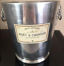VINTAGE MOET CHANDON CHAMPAGNE COOLER BUCKET USED NO DINGS