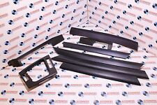 BMW E46 3 Series Interior Trims Set In Carbon Cube Saloon Touring Genuine M3