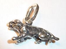 Giovanni Raspini, Leopard, 925 Silber Anhänger, #6823f