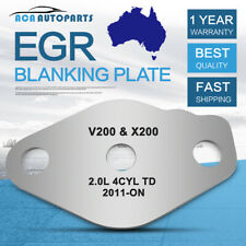 Fit Great Wall Ute EGR Blanking Plate V200 X200 2011-ON 2.0L 4cyl Diesel Engine