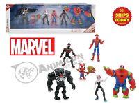 Disney Store Toybox SPIDERMAN ACTION FIGURE GIFT SET Miles Venom Gwen Ham 2020