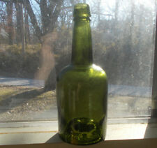 1890s COCA MARIANI PARIS BOTTOM ONLY EMB COCAINE WINE TONIC BOTTLE APPLIED LIP