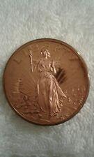 1976 US BICENTENNIAL Coin, 200 Years of  Liberty Copper Coin Clean By A.Macheett