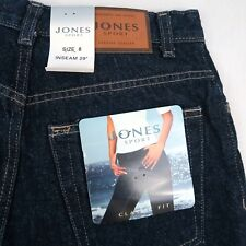 Cute Jones Sport Women`s Size 8 Premium Sport Denim Jeans Dark wash  NWT