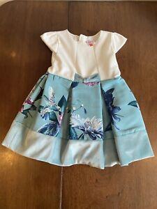 ted baker baby girl hummingbird  dress 18-24 months