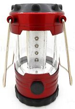 Camping Latern Bivouac Hiking Camping Light 12 LED Lamp Portable w/ Compass NEW