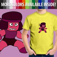 Steven Universe Ruby Garnet Crystal Gems Fusion Unisex Kids Tee Youth T-Shirt