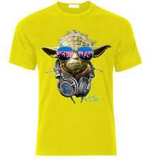 Yoda star wars DJ party  Herren T-Shirt Lustig Fan Gift size S-XXL