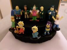 Simpsons Collectible Figures 10 Piece Lot Homer Bartman Marge Maggie Lisa & more