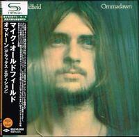 "Mike Oldfield ""Ommadawn"" Deluxe Edition Japan Mini LP 2SHM-CD + DVD w/OBI"