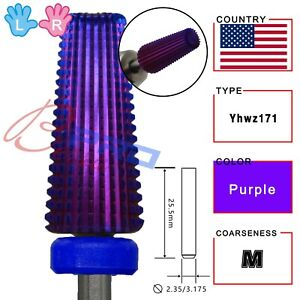 proberra carbide 5 in 1 Purple Power Best Quality hot selling nail drill bits