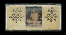 LP Sin Wat LahanYai Boite Amulette magique Thai Takrud takrut Yant  Temple 869