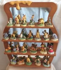 Lenox - Set Of 24 Classic Winnie The Pooh And Friends With Wooden Display