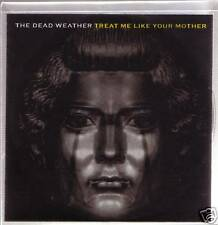 """DEAD WEATHER """"Threat me like your Mother"""" PROMO 1 Track CD"""