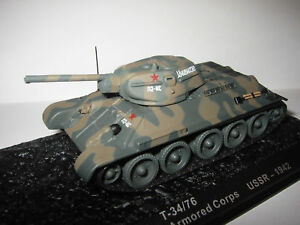 Char T-34/76 130th Tank Brigade 21st Armored Body - USSR 1942 to the / Of 1 /72°