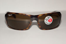 RAYBAN SUNGLASSES  4075 TORTOISE  642/57 POLARIZED ANTI  GLARE  AUTHENTIC NEW