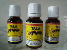 3 X TALA Ant Egg Oil 20 ML Organic HAIR REDUCEING