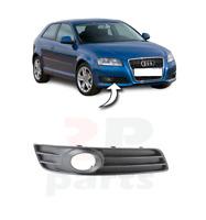 Pour Audi A3 08-12 Neuf Avant Pare-Choc Bas Grille Avec Feu Anti Brouillard Trou