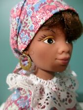 """Rare Vintage GAMBINA DOLL w/ Complementary Stand - New Orleans Souvenir - 14"""""""