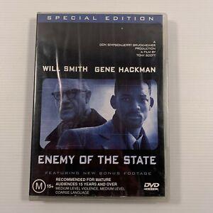 Enemy Of The State (DVD, 2002) 1998 film Will Smith Jon Voight Region 4