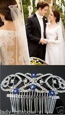 Vogue Twilight Saga Breaking Dawn Bella's Hair Comb Bride Crown Wedding Gift Hot