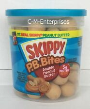 Skippy Peanut Butter Bites Double Peanut Butter 6 oz PB