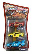 CARS - PISTON CUP GIFT PACK KING CHECKER McQUEEN - Mattel Disney Pixar