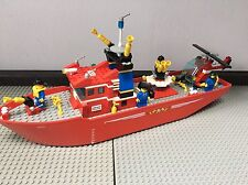 LEGO 4031 Feuerwehrschiff Fire Rescue 100% Komplett