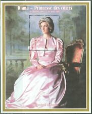 Princess Diana Guinea Royalty Famous People Postal Stamps