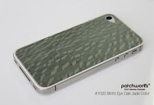 Echtholz Jade Holz Skin iPhone 4S Patchworks braun