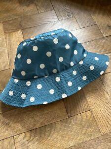 CATH KIDSTON LADIES POLKA DOT RAIN BUCKET HAT