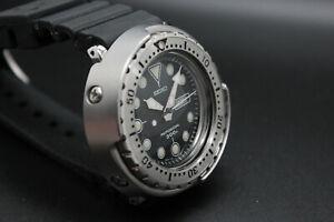 [NEAR MINT] SEIKO PROFESSIONAL 300 7C46-7011 SBBN007 Tuna Diver From JAPAN W030