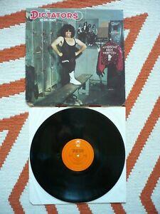 The Dictators Go Girl Crazy Vinyl US 1975 Epic 1st Press 1E/1E Punk LP